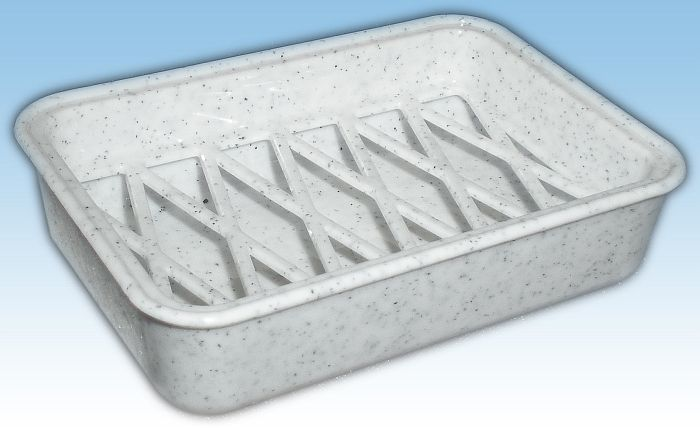 mýdlenka obd.10x7x2,5cm s miskou-plast AD