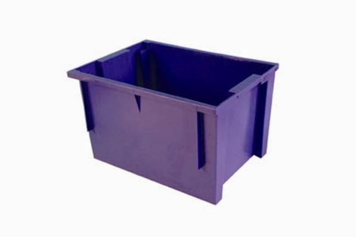 přepravka 40x30x24,0cm POLYPACK modrá, 13kg