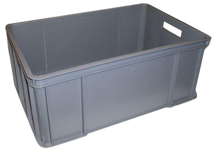 přepravka 60x40x25-30kg RECYKL. šedá 1