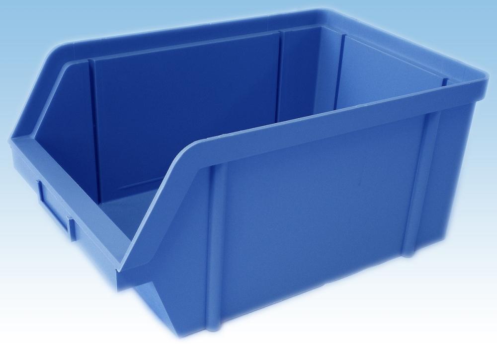 bedna 40kg modrá zkos.40x30x16cm