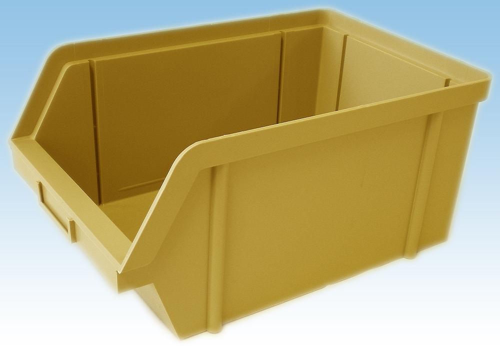 bedna 20kg žlutá zkos.30x20x14cm