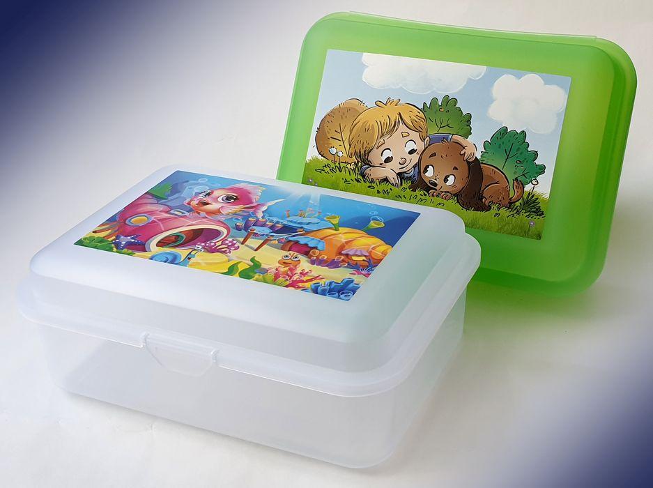 box  1,5l, svačina Dětský dek, 11x7,8x6,2cm, plast