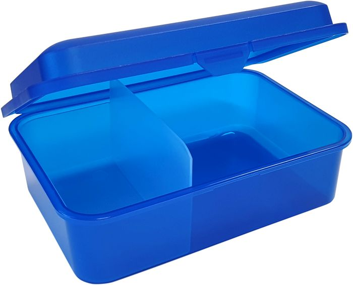 box  1,50l, svačina, dělený, 18x13x7cm, plast