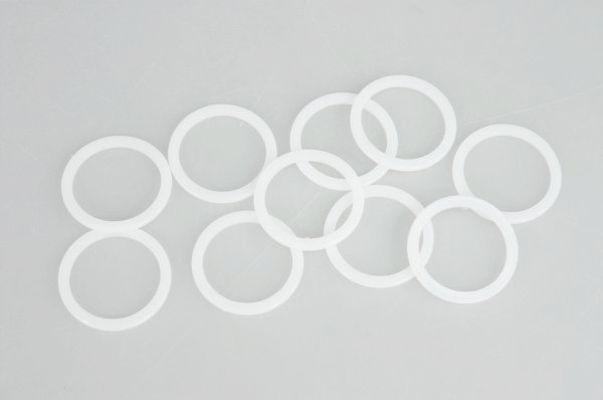 kroužek d20 /20ks/-bílý