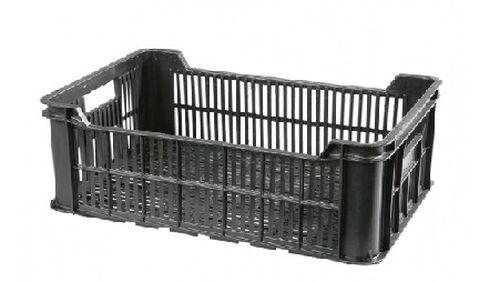 přepravka 60x40x22,0cm OZS-REG, ČERNÁ P-15kg