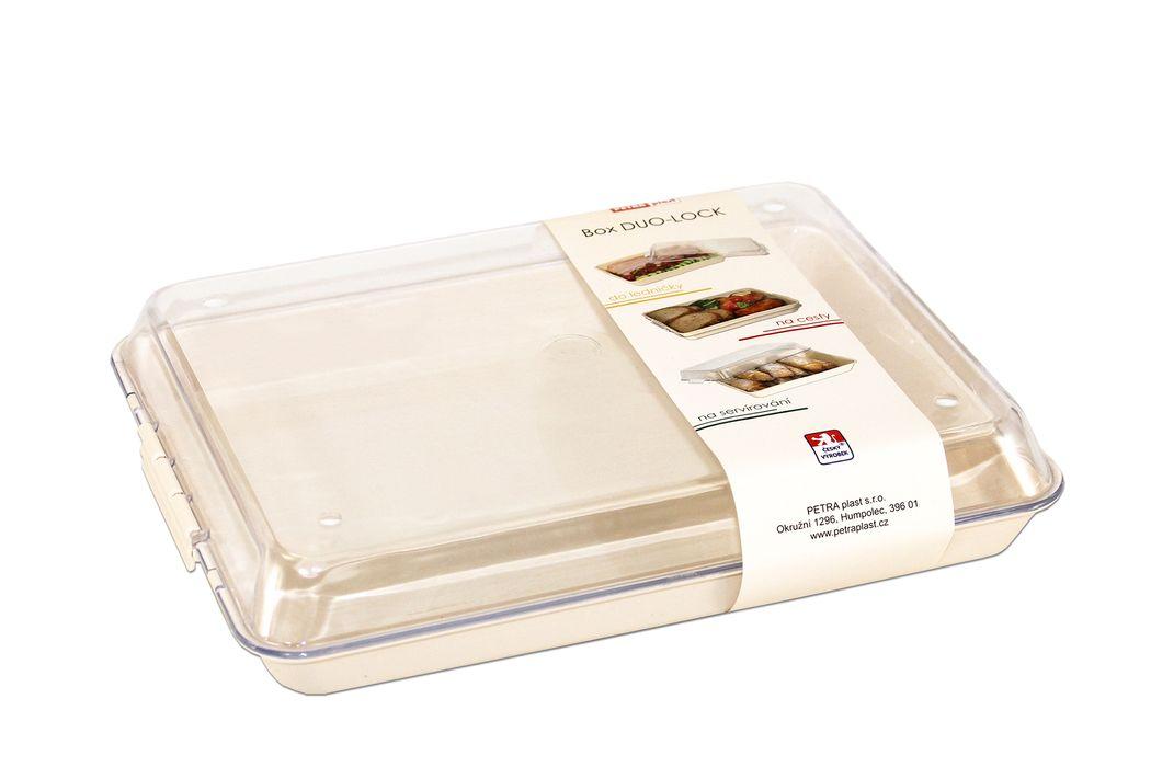 box  1,5l DUO LOCK malý, 26x20x5cm, plast