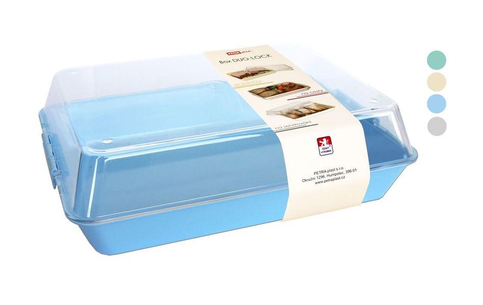 box  2,0l DUO LOCK velký, 26x20,5x7,5cm, plast