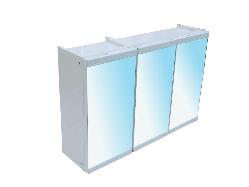 skříňka koupeln.163-3/3zrc.bí.60x16x40