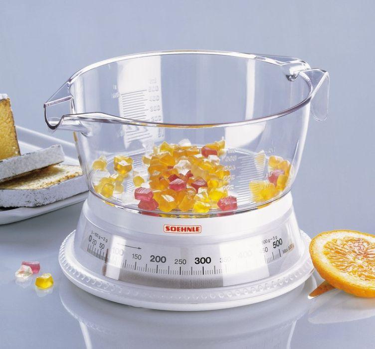 váha  0,5kg kuch.mech.VARIO, vč.mísy, Soehnle