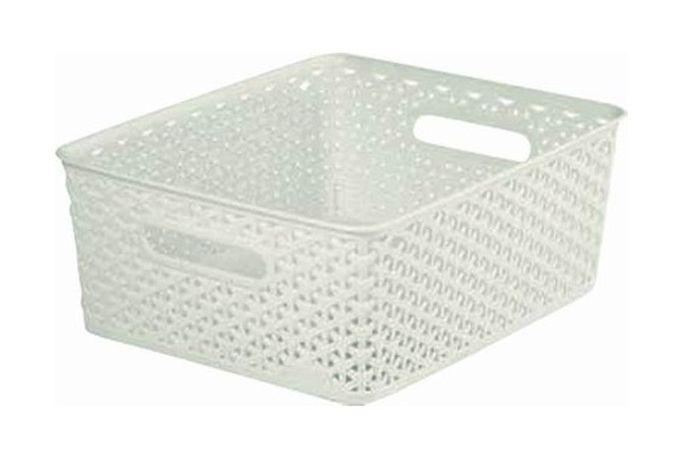 koš-box 35x30x13cm-ratan,krémový Y-StyleM