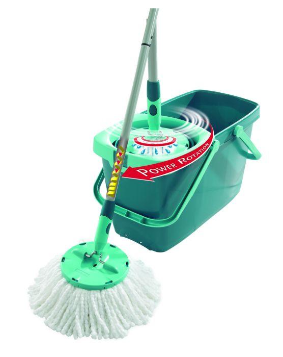 mop kompl.set CleanTwist-kulatý, rotační