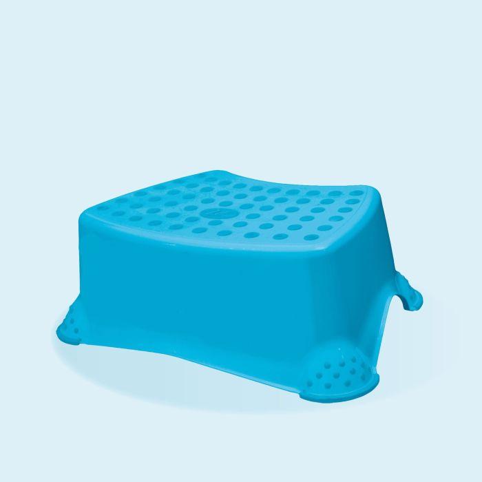taburetka 40x28,v.14cm, modrá, plast
