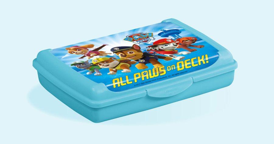 box 0,5l svačina  OLEK, TLAP.PATROLA,17x13x3.5cm,plast
