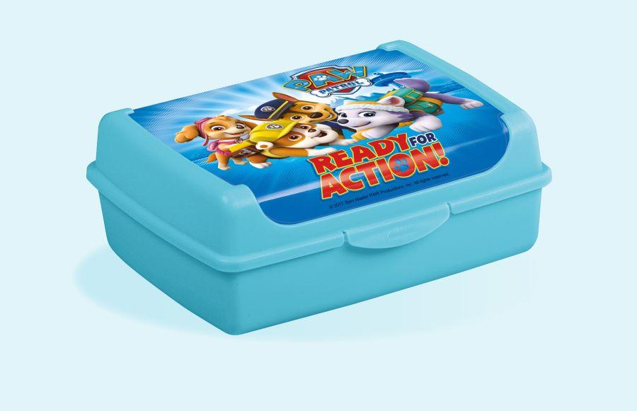 box 1,0l svačina  OLEK, TLAP.PATROLA,17x13x7cm,plast