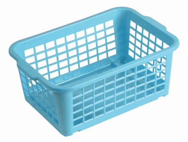 košík modrá, 25x17x10cm,plast