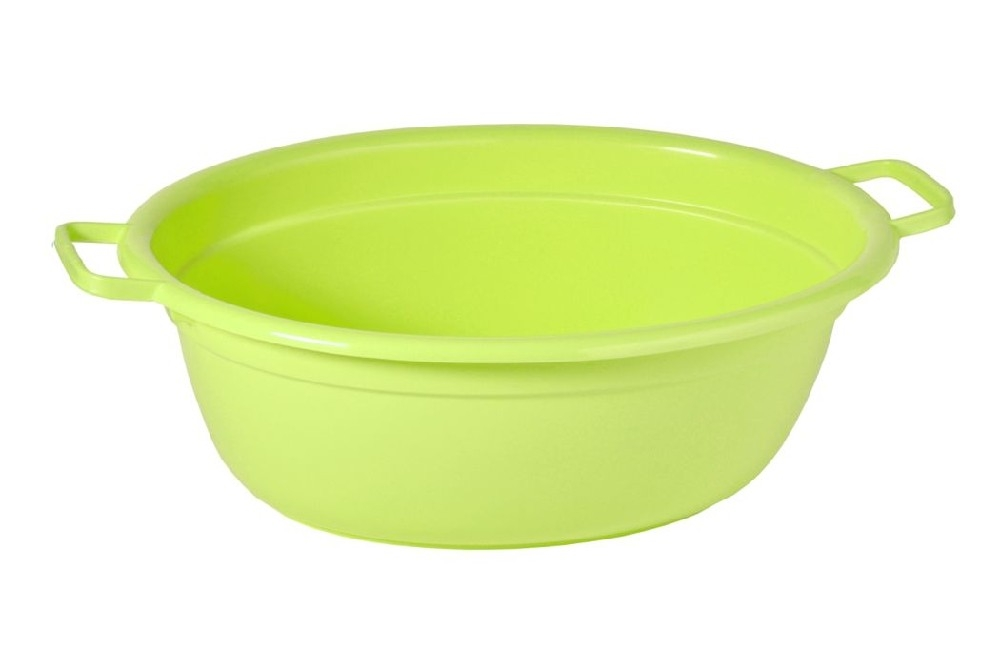 škopek 40l ovál,mag.zelená,65x51x25cm,plast