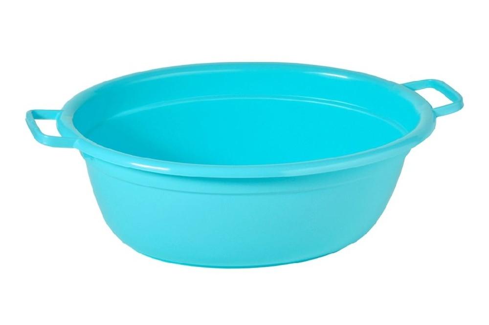 škopek 40l ovál,mag.modrá,65x51x25cm,plast