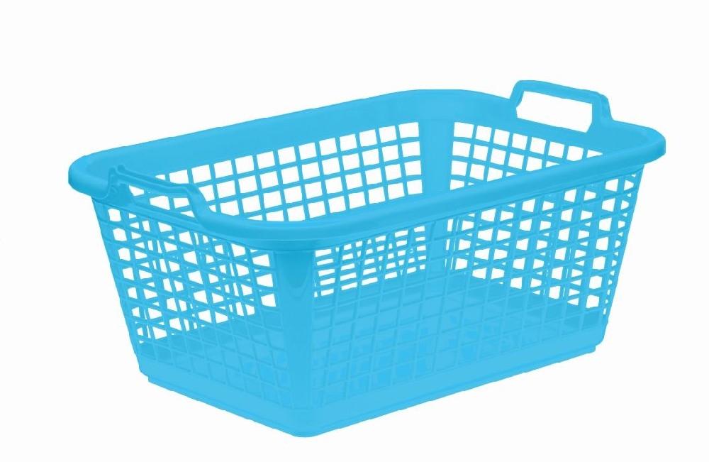 koš 35l na čisté pr.,mag.modrá,60x43x25cm