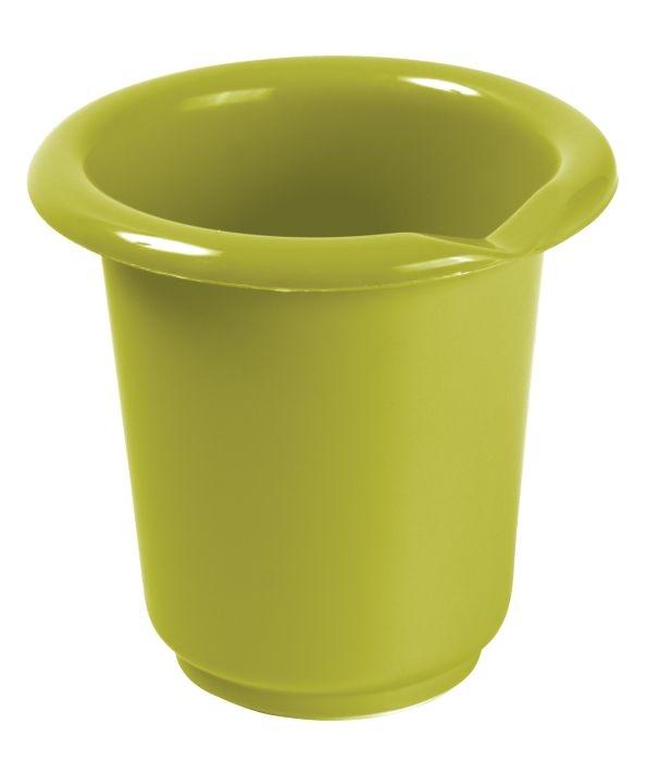 mísa 1,0l šlehací s výlevkou,oliva,plast