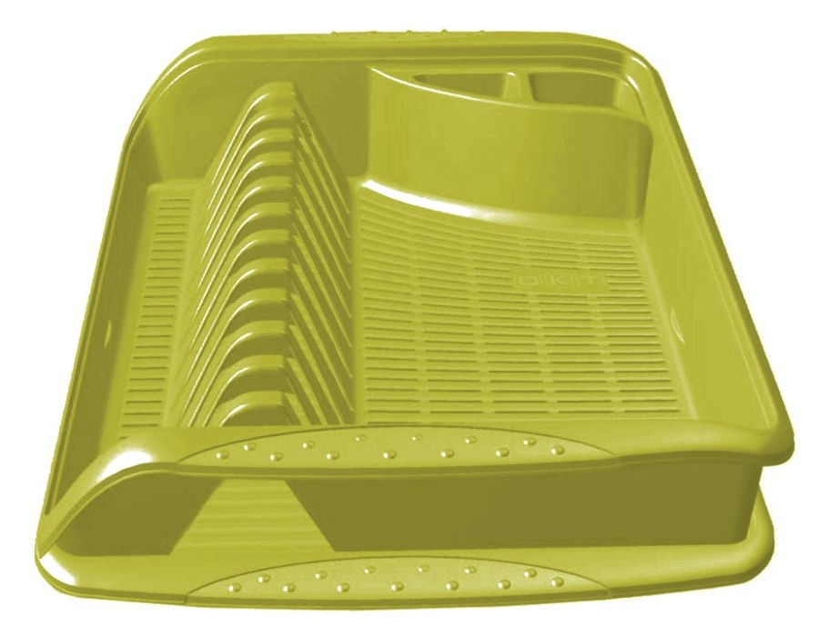 odkapávač 39,5x29,5x8cm,oliva,na nádobí,plast