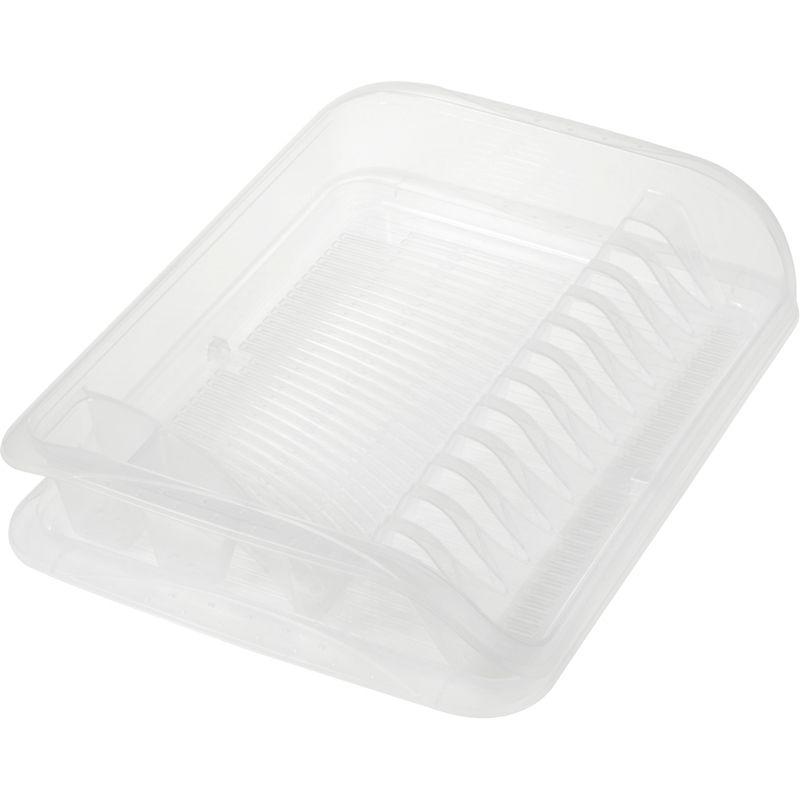 odkapávač 39,5x29,5x8cm,transp.,na nádobí,plast