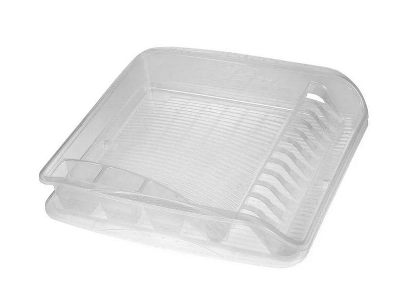 odkapávač 39,5x39,5x8cm,tramsp.,na nádobí,plast
