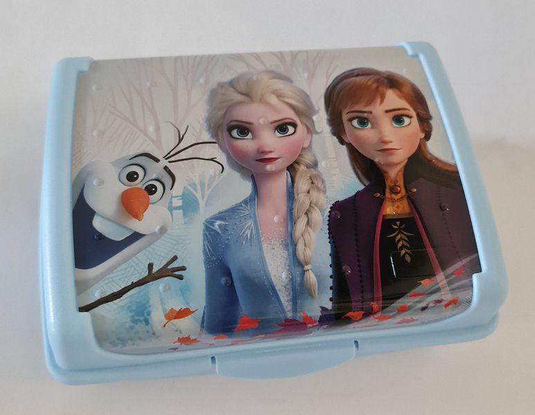 box  1,0l FROZEN, 17x13x7cm, klick modrá, dětský, plast