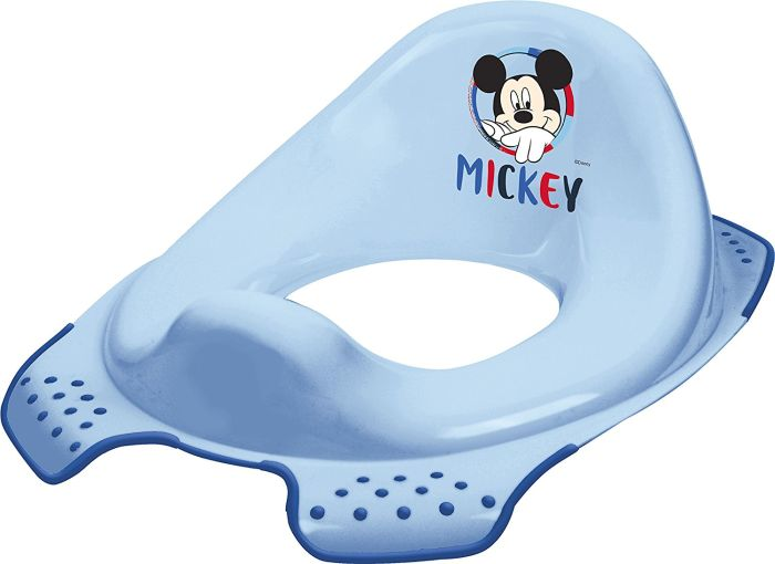 WC sedátko MICKEY modré, 30x40x15cm,protiskluz