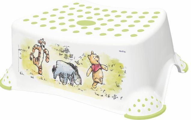 taburetka 40x28,v.14cm bílá,Medvídek Pú