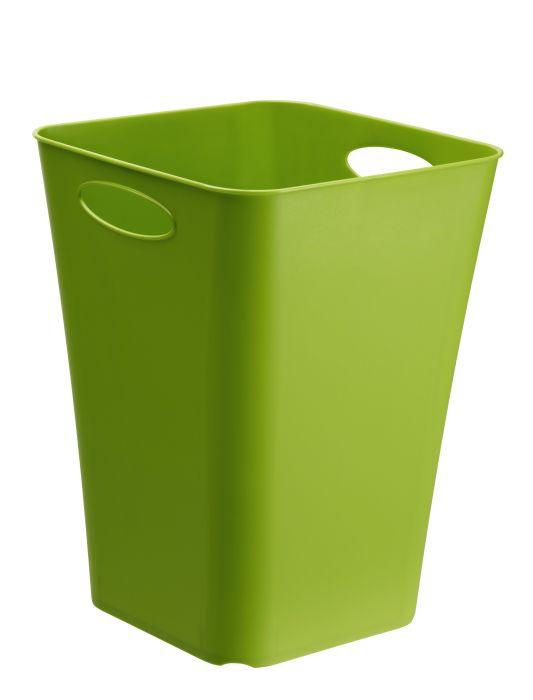 koš odp.23l zelený,kancel. 29,5x29,5x39,5cm