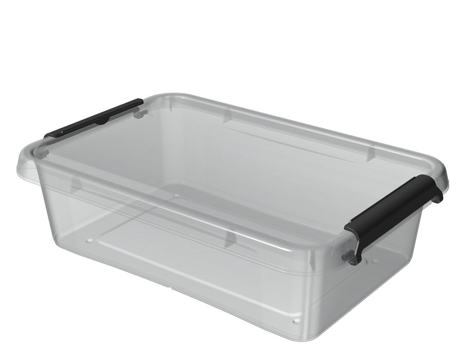 box 3,1l SIMPLE-1312, 29x20x8cm,transp.plast