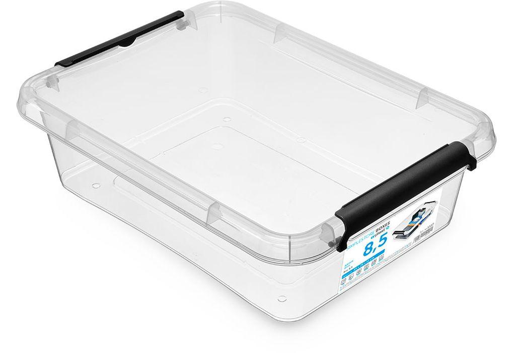 box  8,5 l SIMPLE-1512, 39x29x11, transp.plast