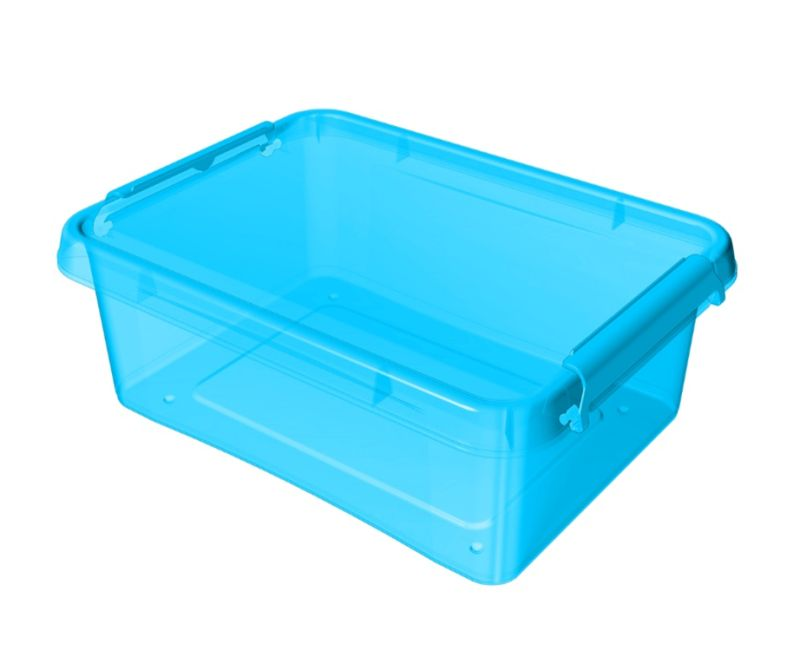 box  8,5l 39x29x11cm,modrý tr.plast