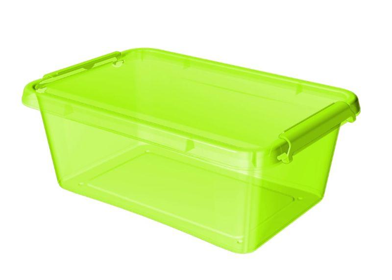box  8,5l COLOR-1512 ZEL., 39x29x11cm, plast