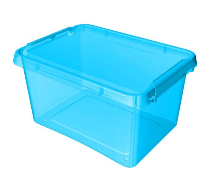 box 12,5 l COLOR-1522 modrý, 39x29x16,5cm, plast
