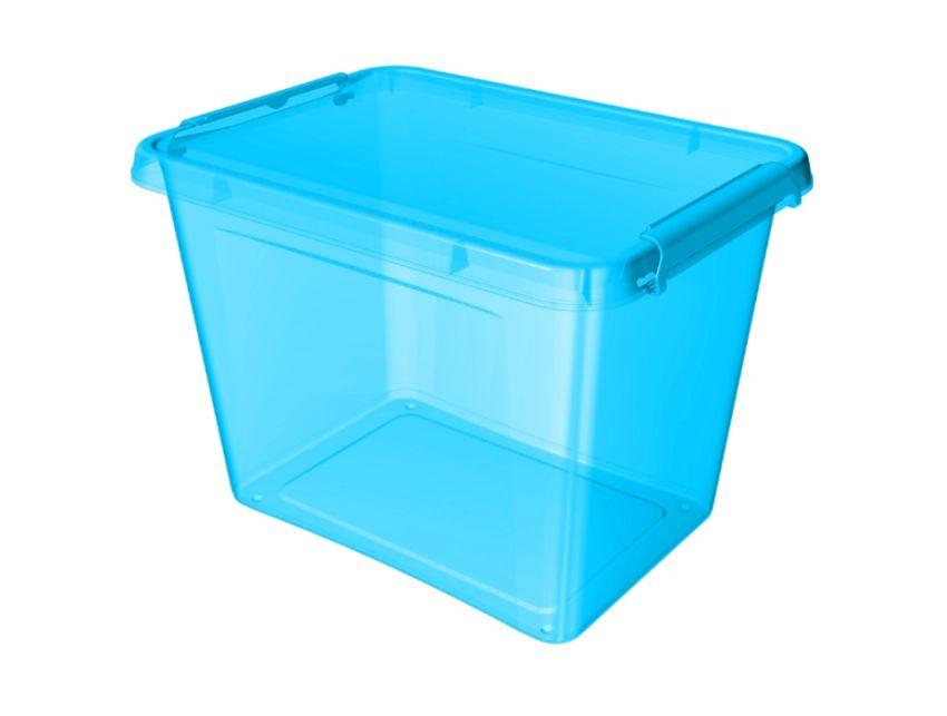 box 19,0l 39x29x26cm, modrý, tr.plast