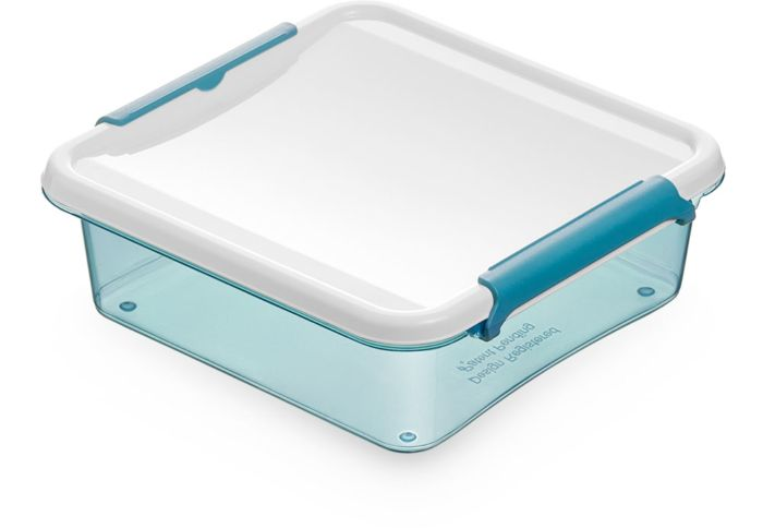 box 0,60l ARTIC LINE, 15x15x4,5cm, plast