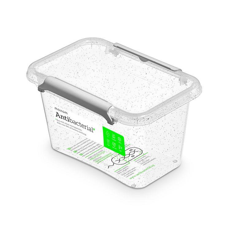 zdravý nanobox 0,65 l 15x9,5x8,5cm,transp.plast