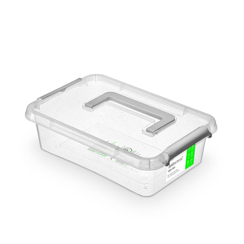 zdravý nanobox 3,1 l 29x20x8cm,rukojeť,transp.plast