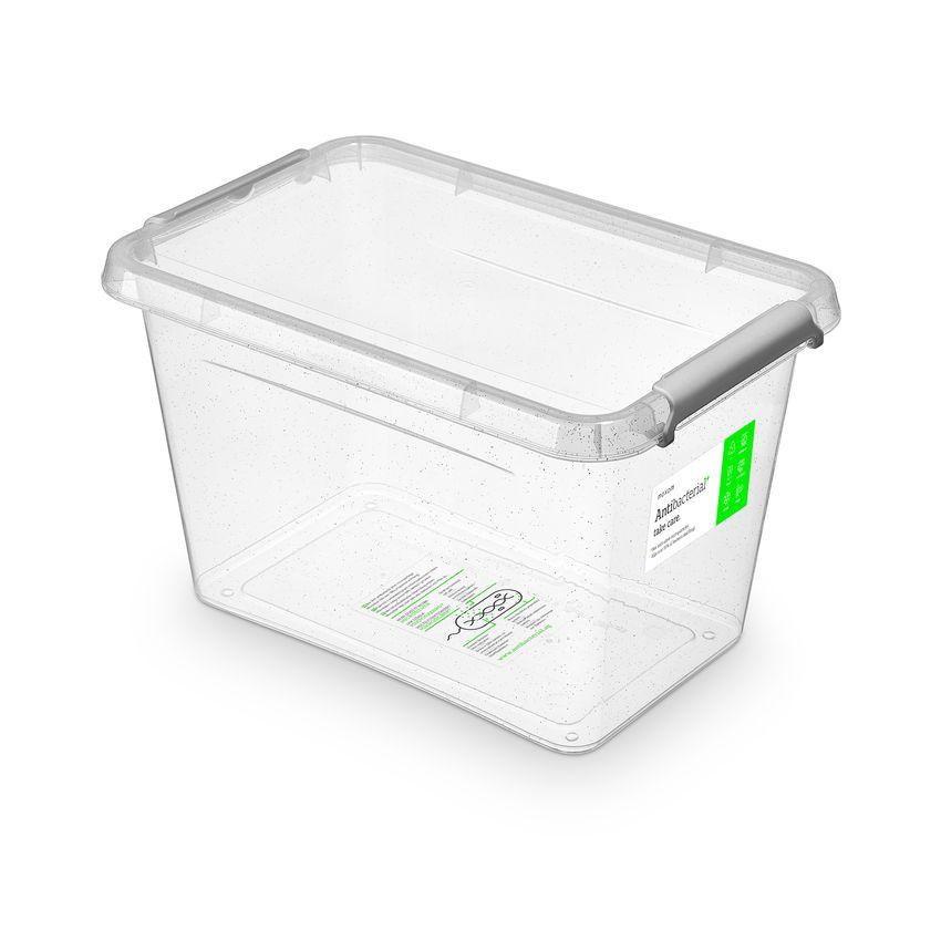 antibakter.box  6,5 l 29x20x18cm,transp.plast
