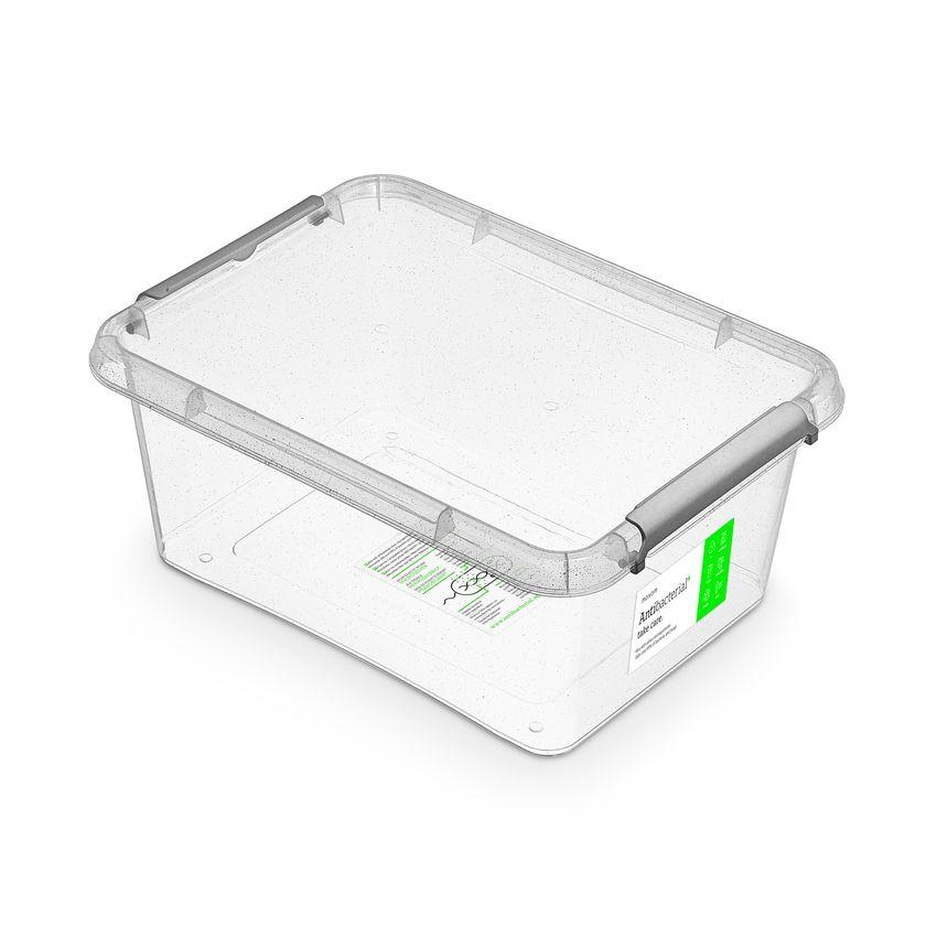 antibakter.box 12,5 l 39x29x16,5cm, transp.plast