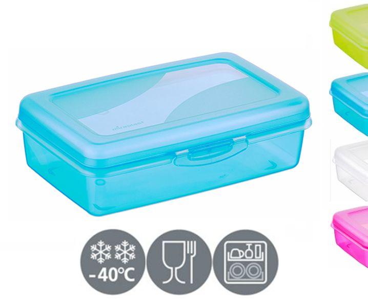 box  0,60l malý, svačin.14,5x9,5x5,5cm,klick, plast