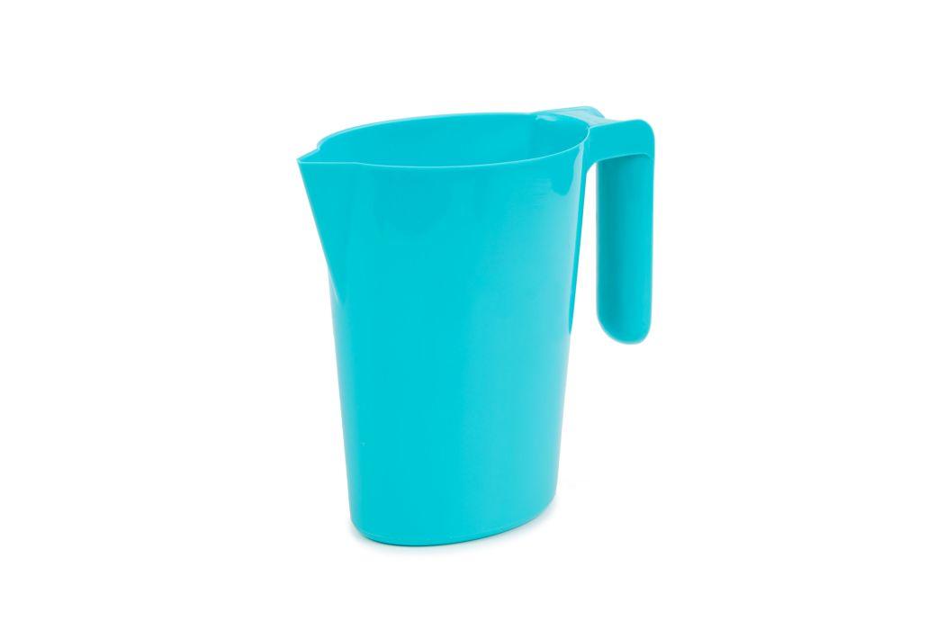 džbán 1,0l SANTI tyrkys, s výlevkou, plast