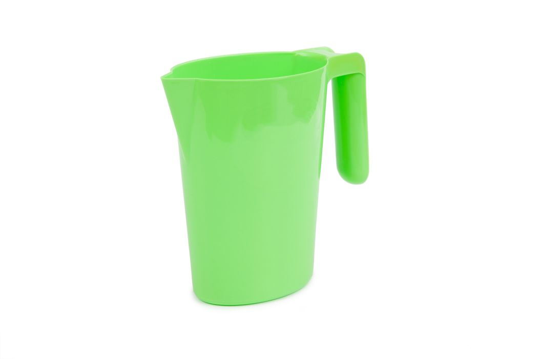 džbán 1,0l SANTI zelený, s výlevkou, plast