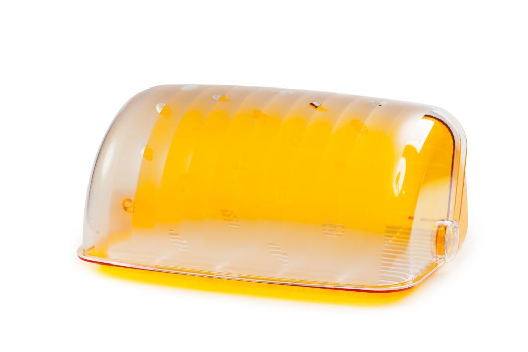 chlebovka 34,5x27,3x16,4cm, SANTI oranž., plast