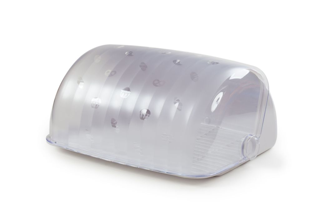 chlebovka 34,5x27,3x16,4cm, RONDO bílá, plast