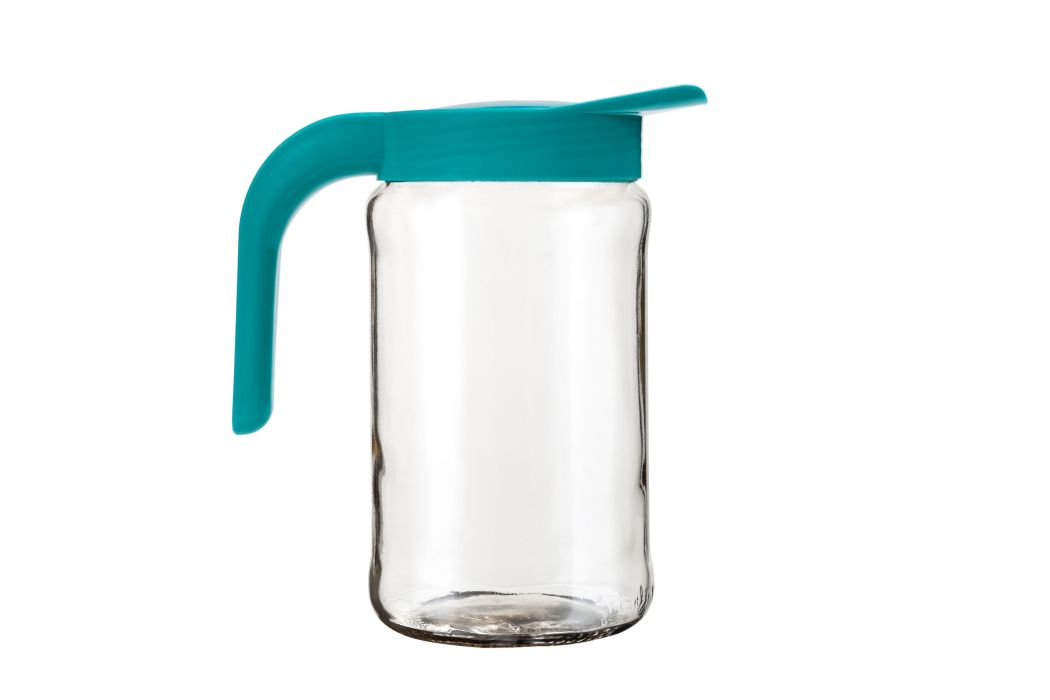 džbán 1,54l BOCHONOCK sklo+víko UH tyrkys
