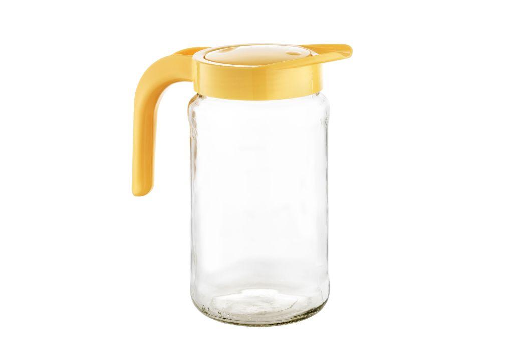 džbán 1,54l BOCHONOCK sklo+víko UH žluté