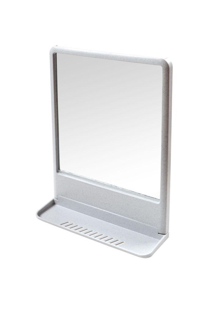 zrcadlo TOKYO bílé s polič. 39,1x29,7x9,2cm