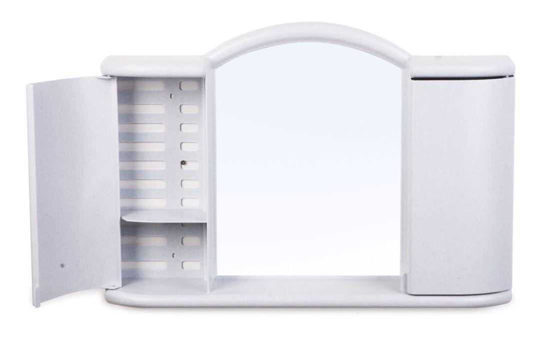 skříňka koup. ARGO zrc.,bílá, 59,6x10,7x41cm